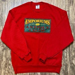 Vintage JERZEES Crewneck Sweatshirt Made in USA L